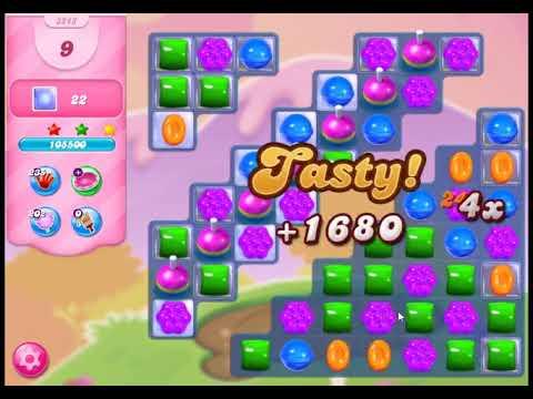 Candy Crush Saga Level 3243 - NO BOOSTERS