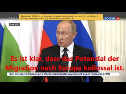 Putin zum Thema Migration
