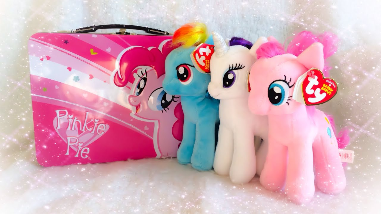 f1ab8bc9acf My Little Pony TY Beanie Babies Toy Review - Rainbow Dash