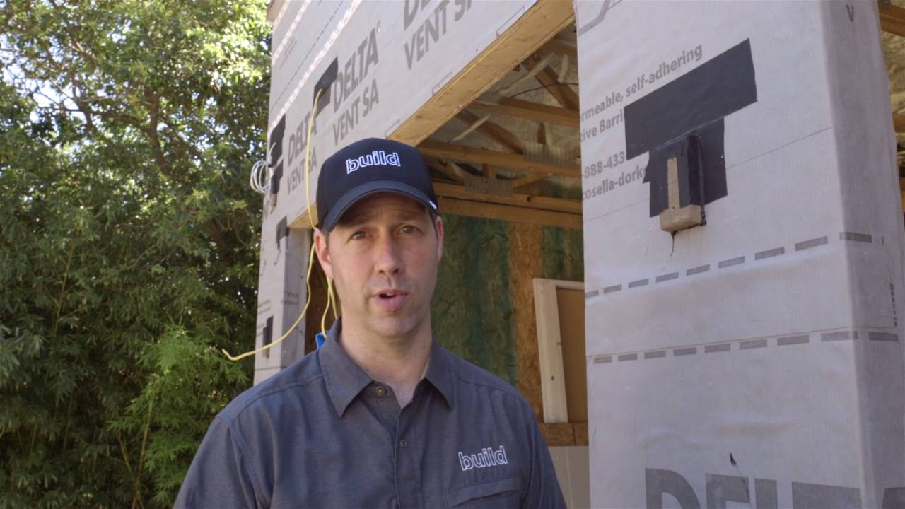Flashing An Awning Sips House With Delta Vent Sa Youtube