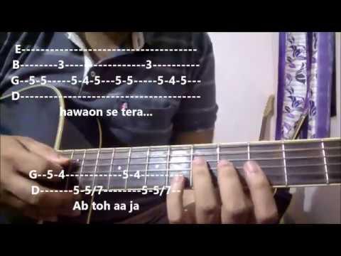 Baarish - Half Girlfriend | Guitar Tabs For Beginners