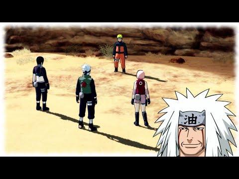 Jiraiya Secret Code for Naruto and Kakashi - Naruto Shippuden Ultimate Ninja Storm 3 Gameplay