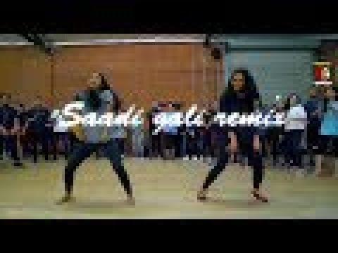 Saadi Gali  Remix X Spanish & Bhangra Dance || Lehmber Hussainpuri || Kangna Ranaut || Shaitan ||