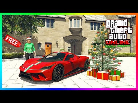 GTA 5 Online Festive Surprise 2019 Christmas DLC Update - FREE GIFTS! NEW Vehicles & MORE! (GTA 5)