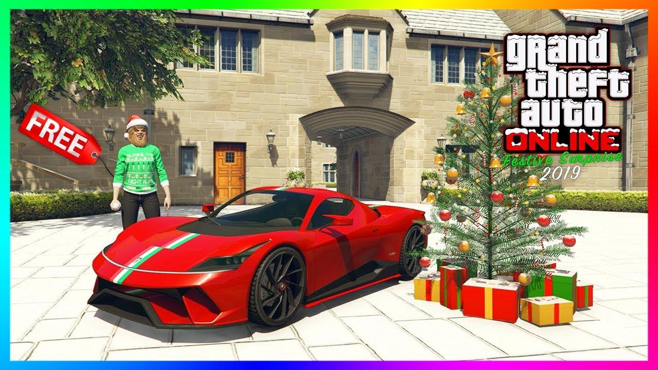 GTA 5 Online Festive Surprise 2019 Christmas DLC Update   FREE