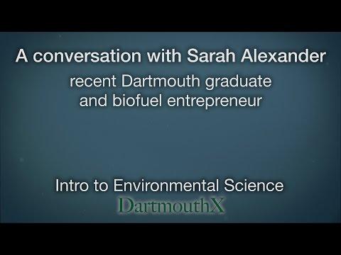 A Conversation with Sarah Alexander