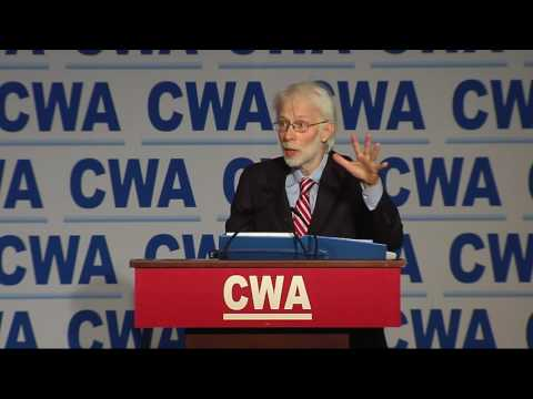 Les Leopold   2016 CWA Legislative-Political Conference   CWA Video