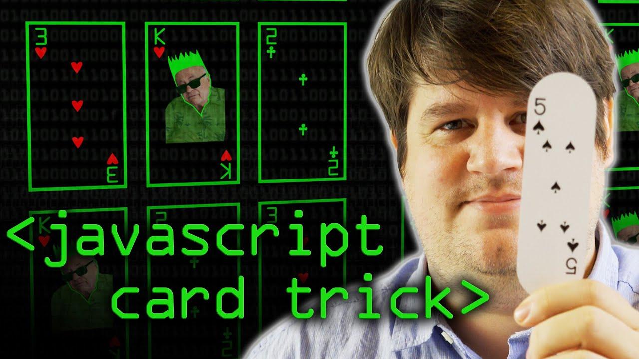 Javascript Card Trick
