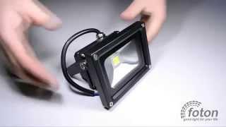 Светодиодный прожектор LP 10W, 220V, IP67 Premium(Светодиодный прожектор 10W для наружного применения премиум серии, рабочее напряжение 220В. Альтернатива..., 2014-10-31T09:12:18.000Z)