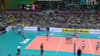 วอลเลย์บอลหญิงไทย - จีน (3)