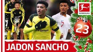 Jadon Sancho - Bundesliga's Best - Bundesliga 2019 Advent Calendar 23