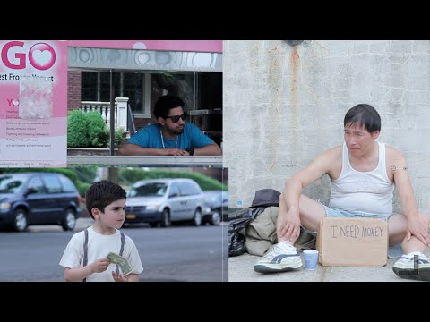 Thumbnail: Kids decide between helping the Homeless or Ice Cream