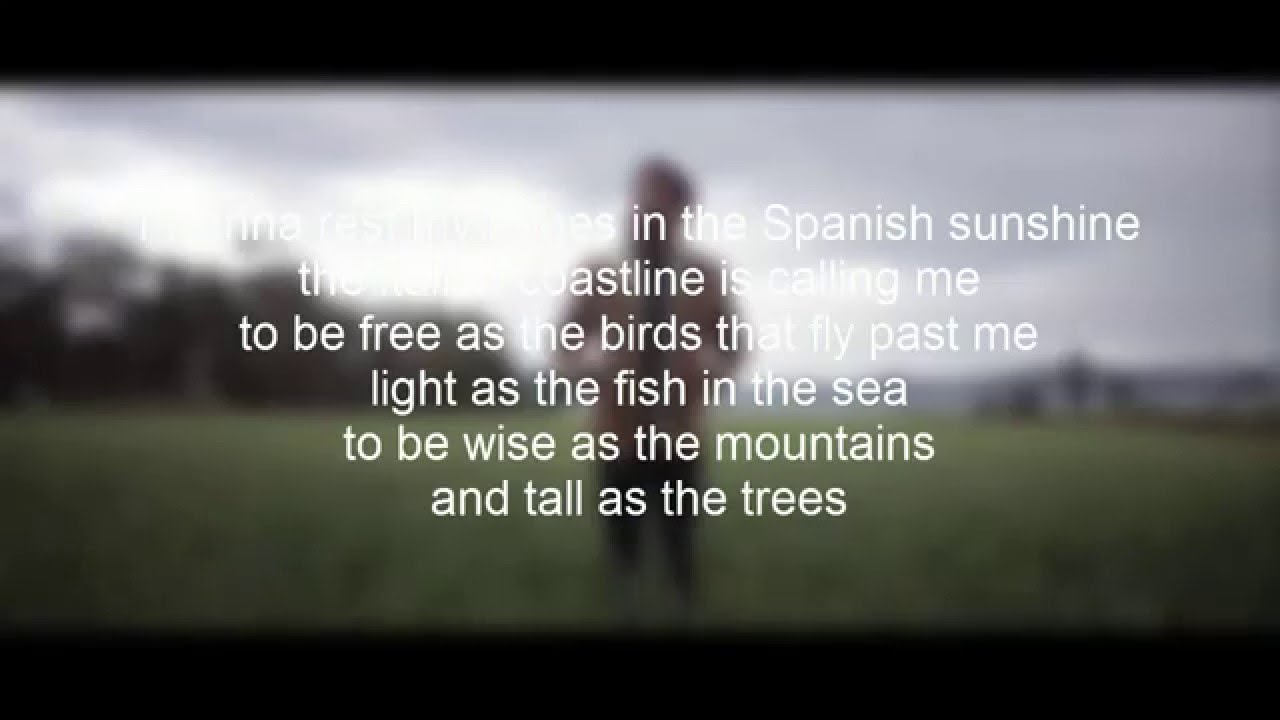 to be free passenger lyrics