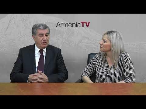 Armenia TV (Australia) - Interview with Professor Tovmas Boghossian