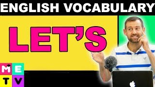 "How to Use ""LET'S"" (ESL Vocabulary Lesson)"