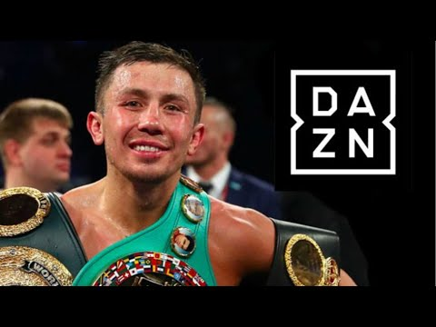 Gennady Golovkin To Sign Moster Deal w/ DAZN | Includes 15 Million Tune Up Canelo 3 & Equity in DAZN