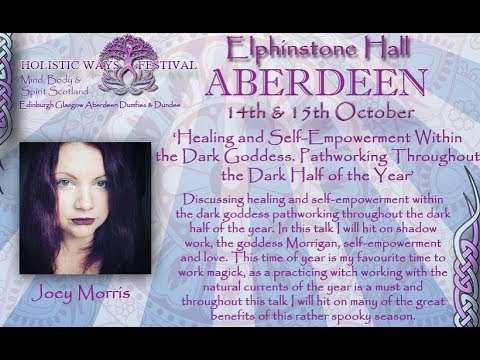 Live Seminar: Healing & Self Empowerment With the Dark Goddess - Holistic Ways Festival Aberdeen