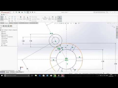 SolidWorks Sketch Excercise 1