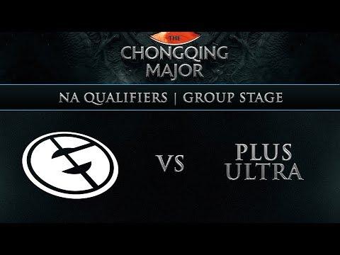 EG vs Plus Ultra - The Chongqing Major - Game 1