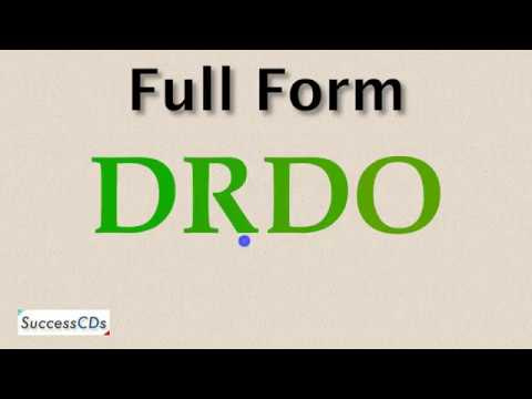 DRDO Full Form - What Is The Full Form Of DRDO?