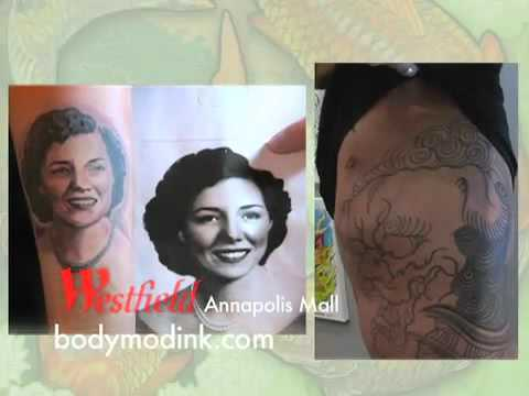 Body mod tattoo and piercing shop in annapolis mall a for Tattoo shops in annapolis