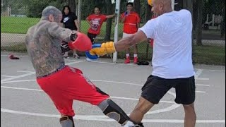 (Mighty Mouse) Vs. (Queens Vibes) (Muay thai) who won?