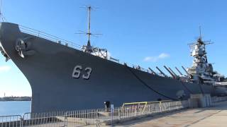 戦艦ミズーリ(USS Missouri, BB-63)@Pearl Harbor