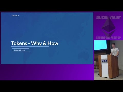 Tokens, Why & How - Fred Ehrsam