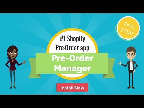 pre‑order manager