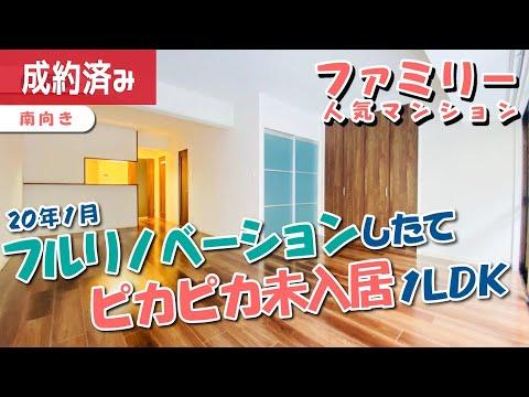 【フルリノベーション】北浜駅、人気のファミリーマンション!未入居ピカピカルーム【1LDK賃貸】Unoccupied Full Renovation Room For Families!