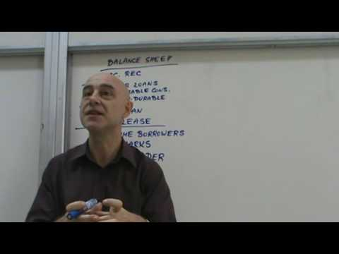 Financial Markets and Institutions - Lecture 40