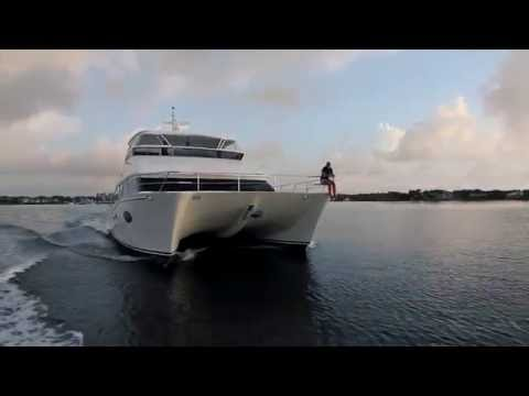 Horizon Yachts PC60 Power Catamaran Full Tour