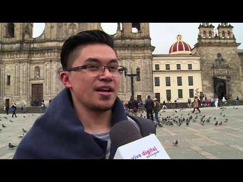 Así se imaginan los colombianos la Colombia del futuro VOXPOP  C23 N7 #ViveDigitalTV