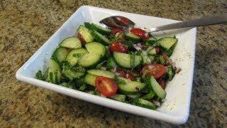 Cucumber Tomato Salad - Lynn's Recipes