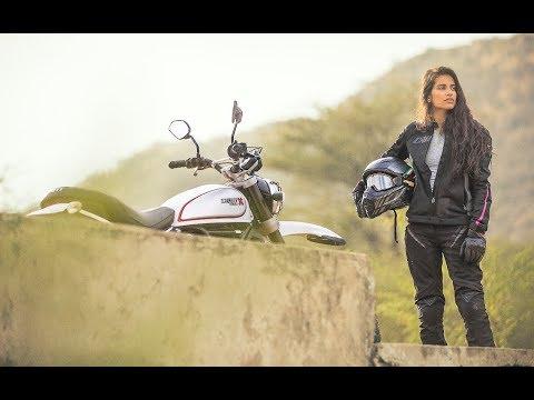 Sledding across the Thar Desert on a Ducati