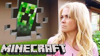 Minecraft En La Vida Real - lele