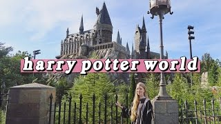 First Time at Harry Potter World