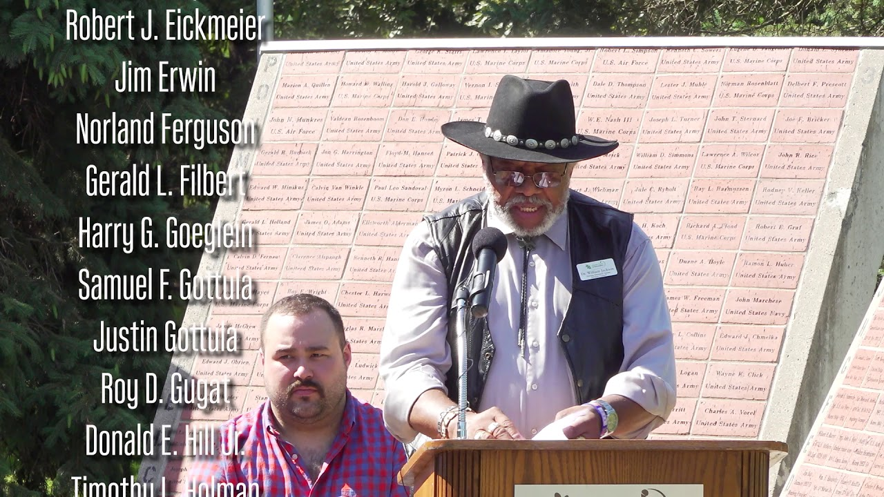 2019 Veterans Memorial Garden Dedication Ceremony, Lincoln ...
