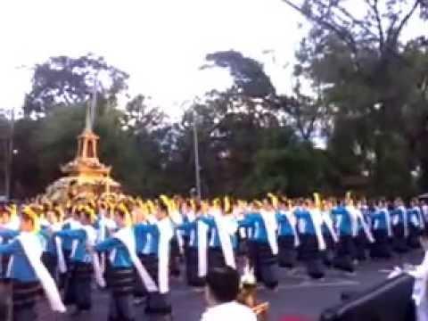 ฟ้อนเล็บ งานประเพณีเดินขึ้นดอยสุเทพ วันวิสาขบูชา เชียงใหม่ 12 พฤษภาคม 2557