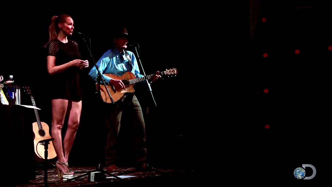 Jewel and atz kilcher sing theme song to alaska the last frontier
