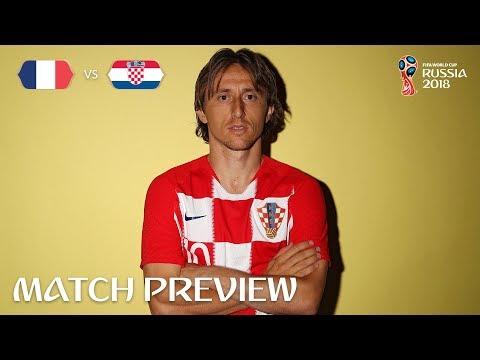 Luka MODRIC - France v Croatia Preview - 2018 FIFA World Cup™  - Play-off for third place
