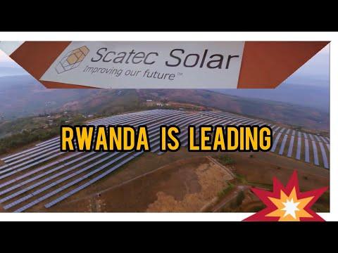 Rwanda? Yes! Of It Kind In Africa! Solar Power