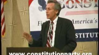 Constitution Party Speaker - Virgil Goode - Part Two