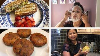 খুব ব্যাস্ত দিনের Routine || অভিনভ Sandwich Recipe || Tasty Evening Snacks || Indian Vlogger Soumi