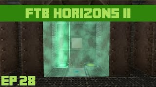 FTB Horizons Daybreaker : Ep.28 - RFTools Force Field!