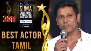 SIIMA 2016 Best Actor Tamil | Vikram - I Movie