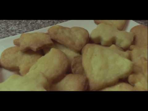 Einfache, schnelle 3-Zutaten-Ausstech Kekse   Keksteig   Mürbeteig !
