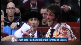 """""""El torero Juan José Padilla sufre estallamiento de glóbulo ocular por cornada"""" EfektoTV Deportes:"""
