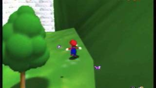 Super Mario 64 - How to get to the top of the Castle without the Cannon + Glitches