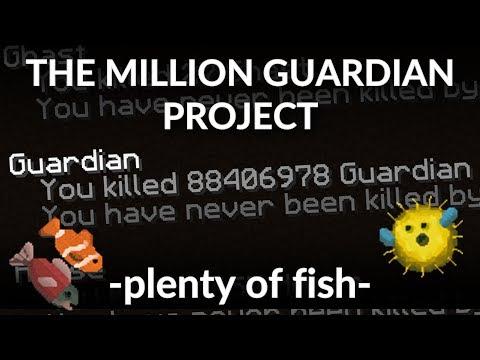 The Million Guardian Project. Guardian Massacre. What's your stats? Minecraft Survival 1.12
